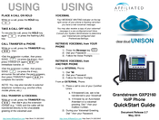 grandstream gxp2160 quick user guide
