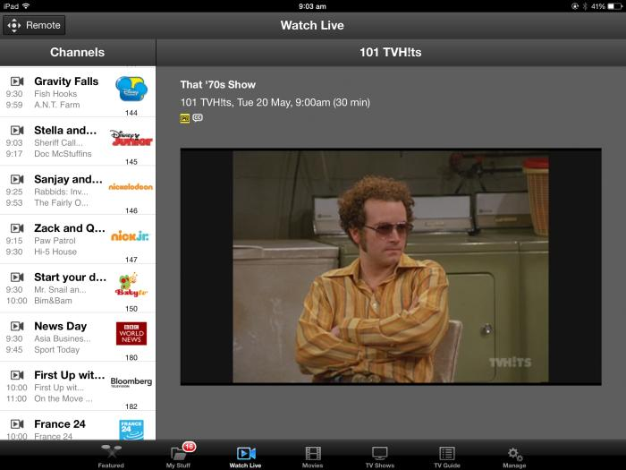 optus tv with fetch user guide