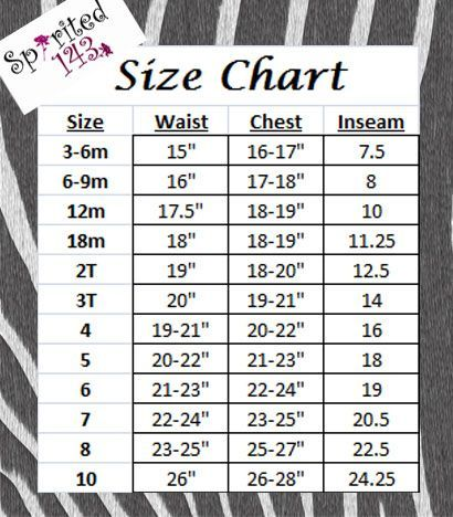 next childrens clothes size guide