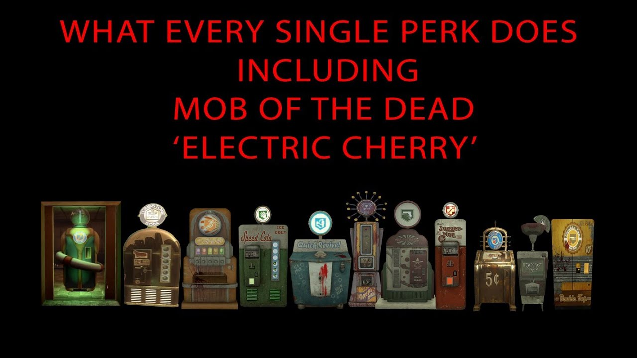 black ops zombie perks guide