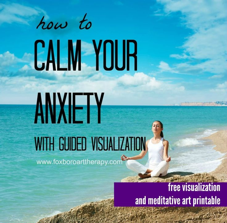 online guided meditation for anxiety