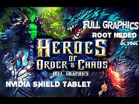 heroes of order and chaos tablet guide