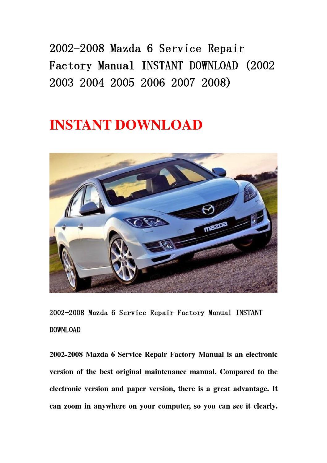2005 mazda 6 price guide
