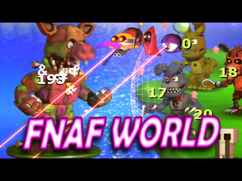 fnaf world update 2 guide
