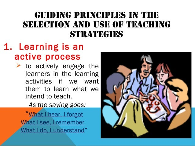 7 guiding principles of teaching and learning