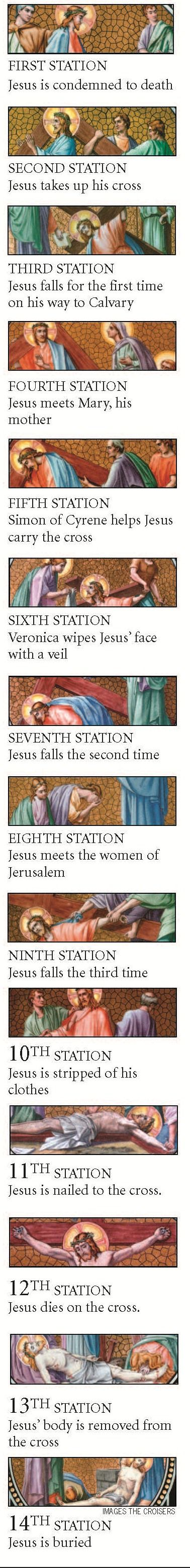catholic station of the cross prayer guide