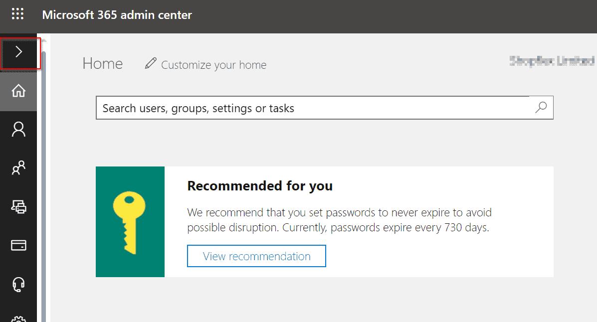 office 365 admin center guide