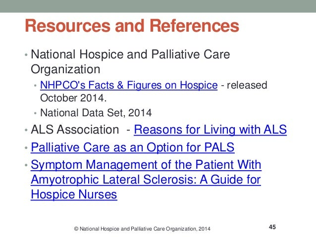 hospice and palliative care certification study guide