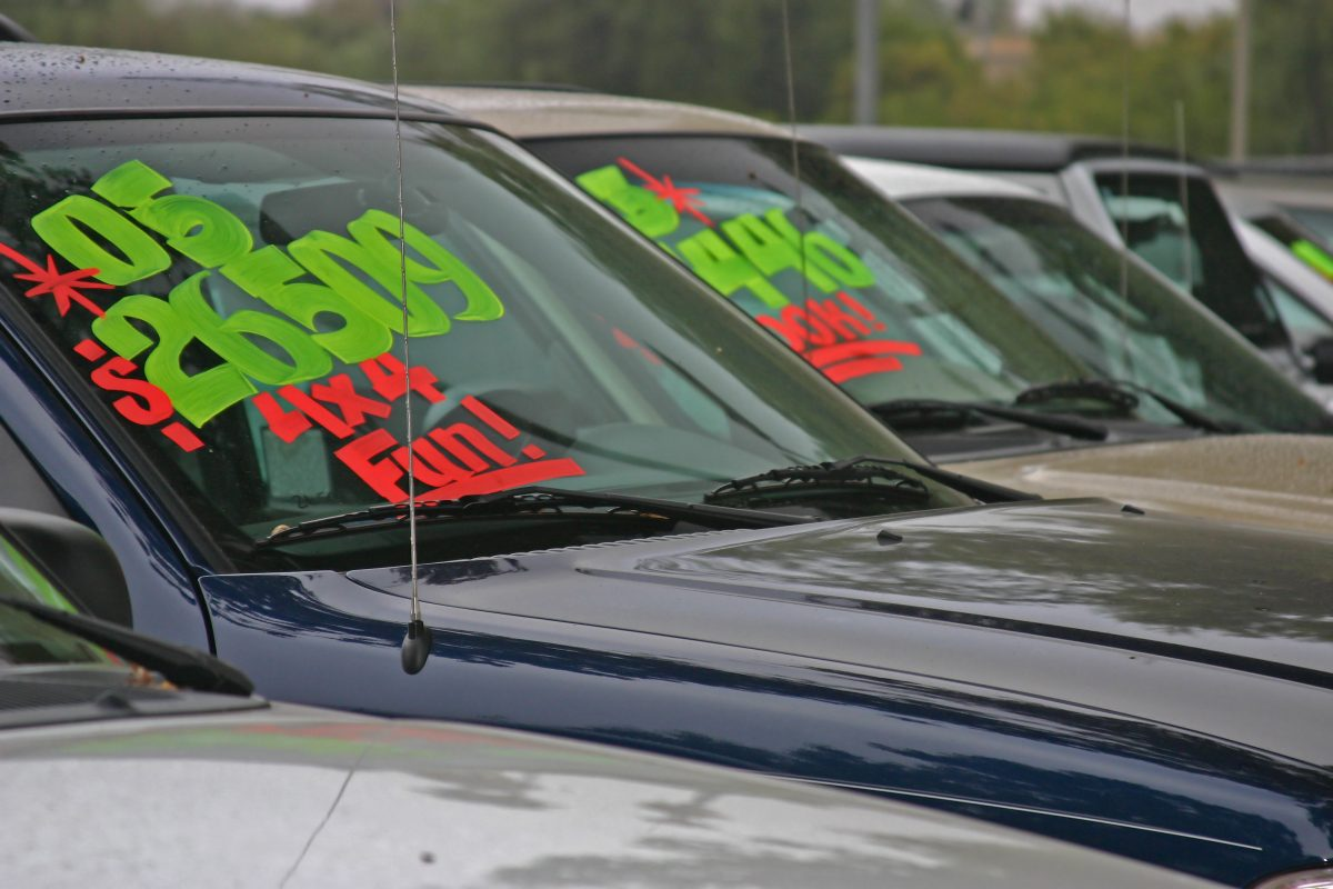 used car auction prices guide