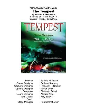 the tempest study guide pdf