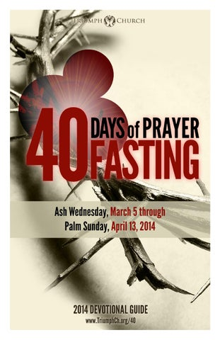 14 days fasting and prayer guide