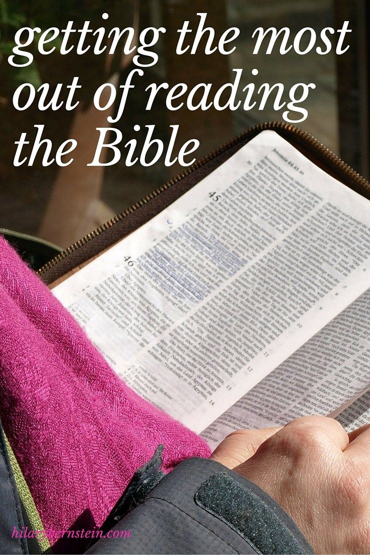 a guide to reading the bible