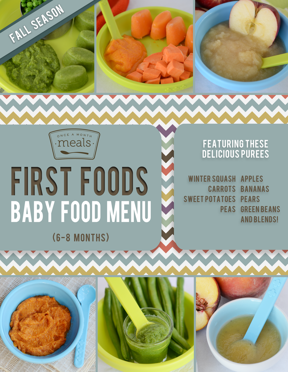 baby food guide by age