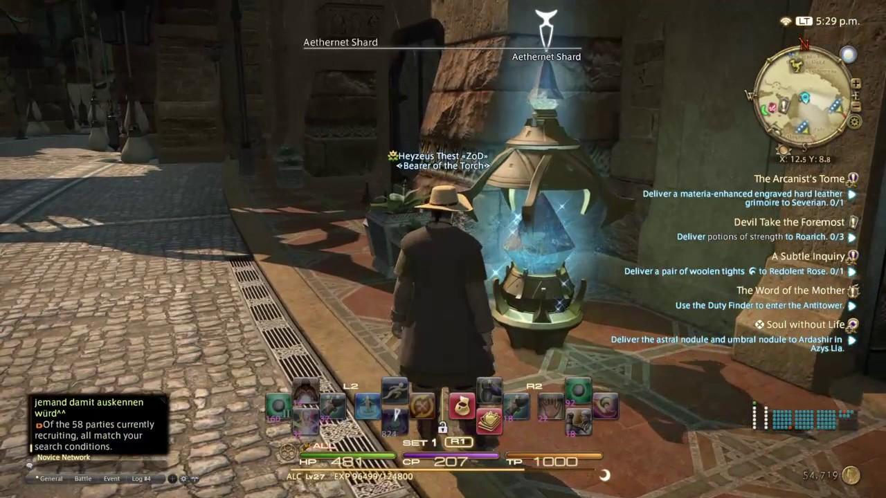 final fantasy 14 alchemist guide
