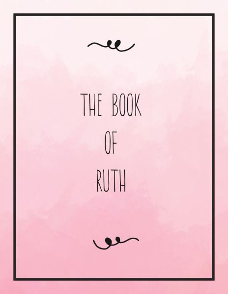 book of ruth study guide