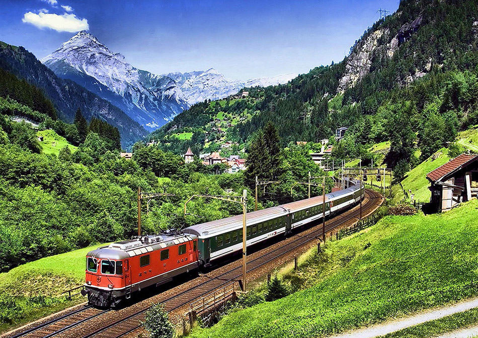 train travel in europe guide