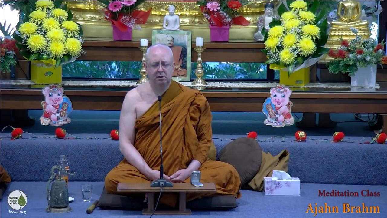 ajahn brahm guided meditation 2017