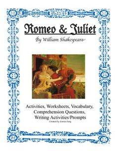 romeo and juliet pre reading anticipation guide