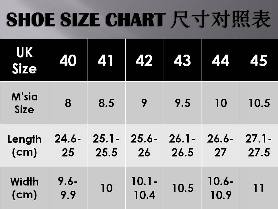 shoe size guide uk to aus