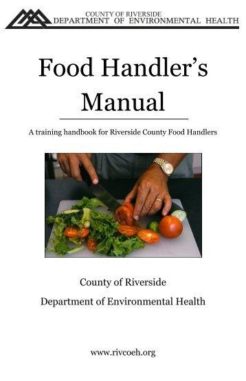 food handlers test study guide