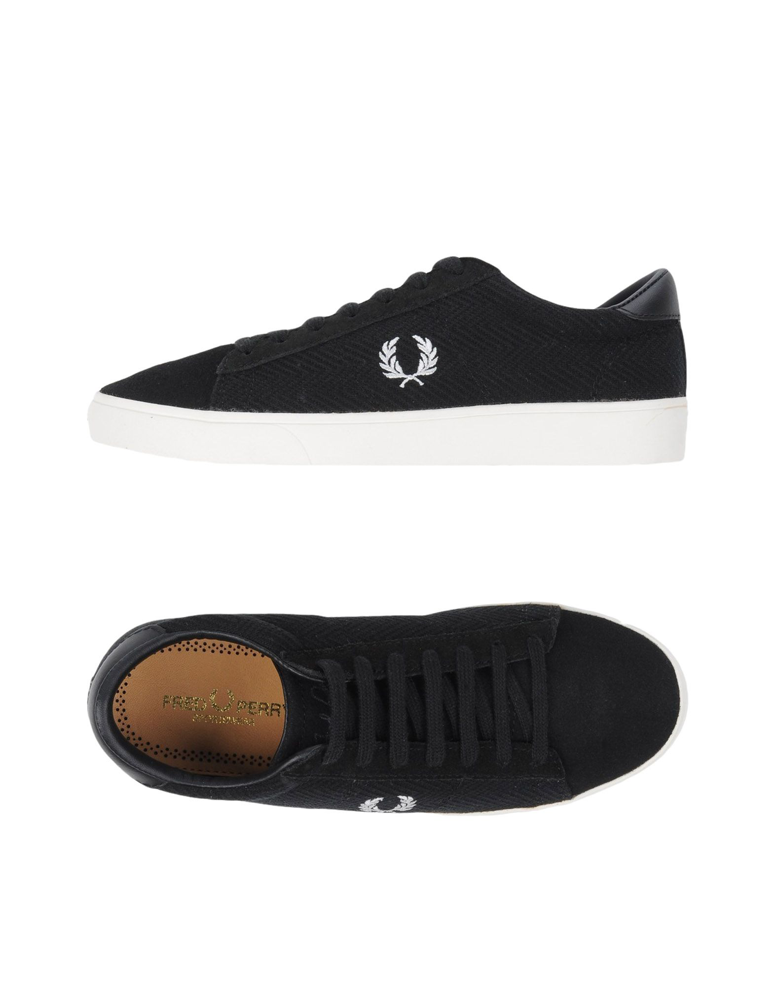 fred perry shoes size guide