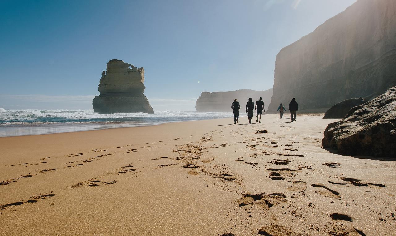 great ocean road walk self guided