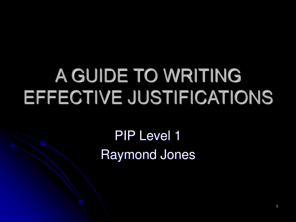 guide to writing the pip