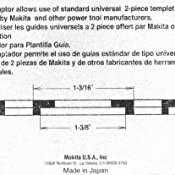 makita 321492 3 template guide