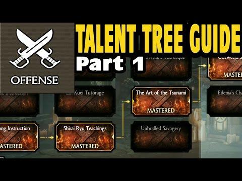 mortal kombat x talent tree guide