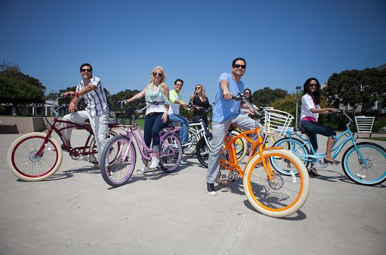 self guided bike tours california